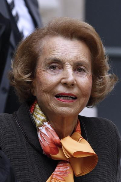 Lillian Bettencourt - L'Oreal. World's richest woman. Source: Forbes