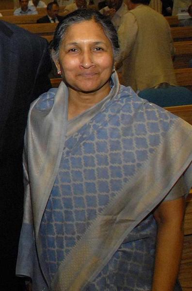 Savitri Jindal - World's richest Indian woman. Steel industry.